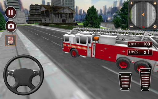 FireFighters: Fire Truck Sim