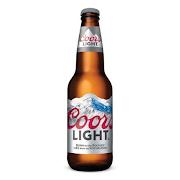 Coors Light Bottle