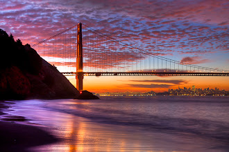 Photo: Golden Gate October Sunrise