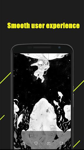 Magic Dynamic Wallpaper — HD mobile theme screenshot 3