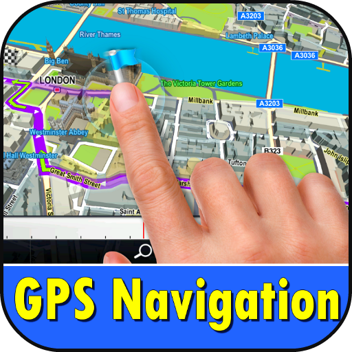 GPS Navigation that talks Screenshot