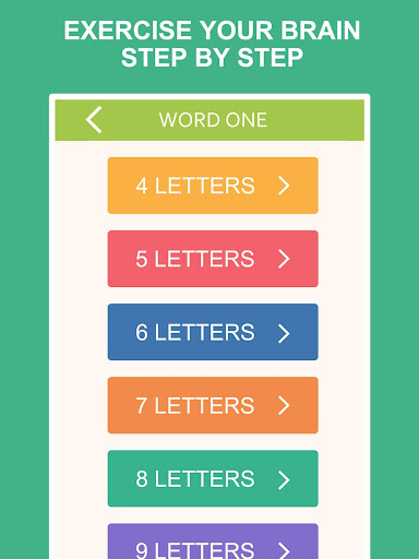 (APK) تحميل لالروبوت / PC Word One - Find Hidden Words ألعاب screenshot