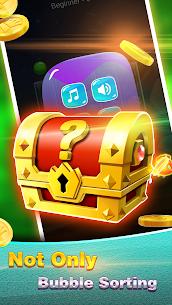 Golden Bubble Sort MOD (Unlimited Money) 4