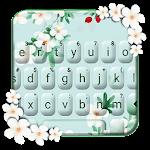 Girly Charming Floral Tema Tastiera Icon