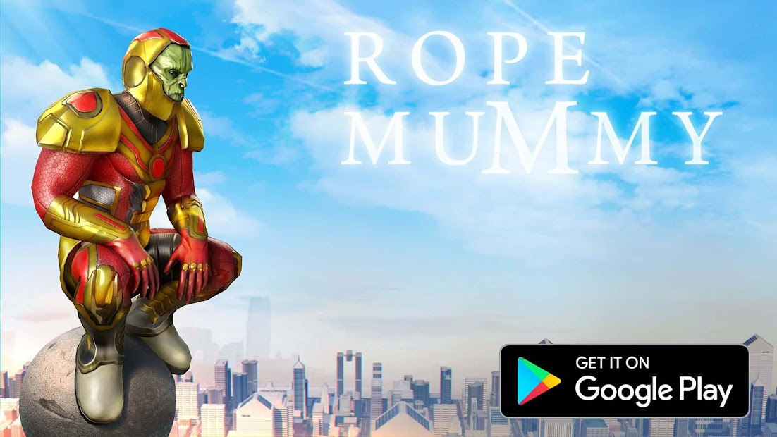Rope Mummy Crime Simulator: Vegas Hero