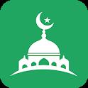 Panduan Muslim:  Waktu Shalat, Azan, Quran & Qibla icon