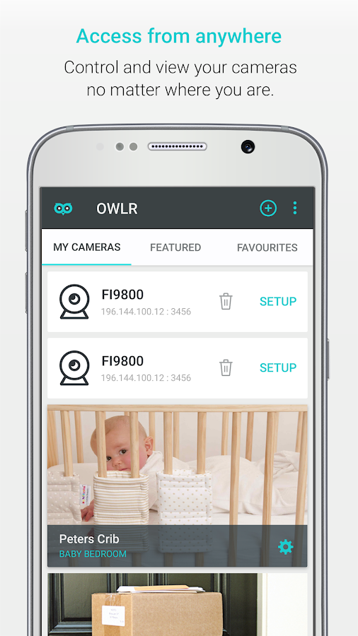 OWLR Multi Brand IP Cam Viewer- screenshot