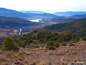 Photo: Pobla de Segur i pantà de Sant Antoni des de los Emprius