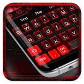 Black Red Keyboard Theme