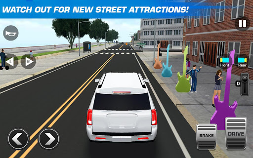 Super High School Bus Driving Simulator 3D - 2020 apkdebit screenshots 13