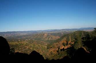 Photo: View from junction of Juniper Canyon and High Peaks trails, April 2009
