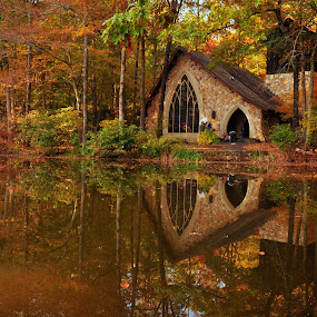 Callaway Garden Chapel by Abet Rhupert - Buildings & Architecture Places of Worship
