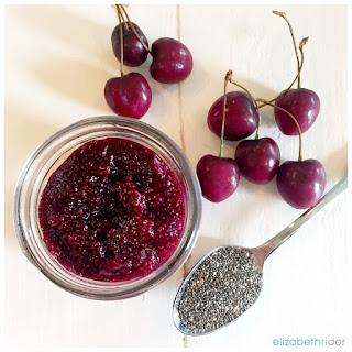 Easy Cherry Chia Seed Jam