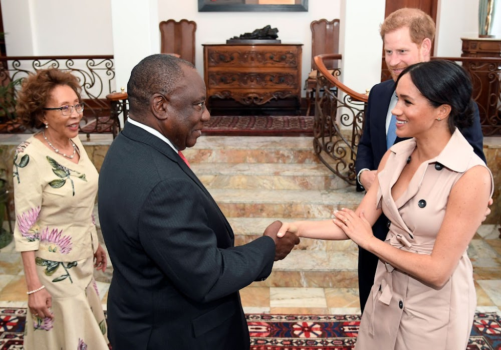 WATCH | Have you 'herd' about the gift Ramaphosa gave the royals?