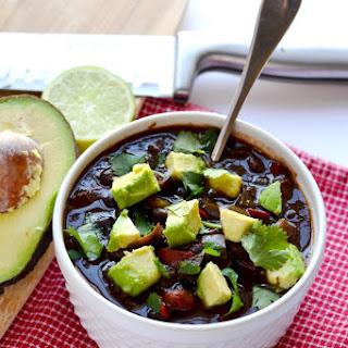 Instant Pot Black Bean Soup (Vegan) Recipe
