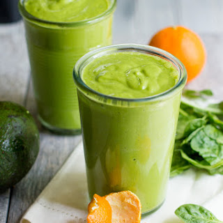 Clementine Avocado Smoothie.