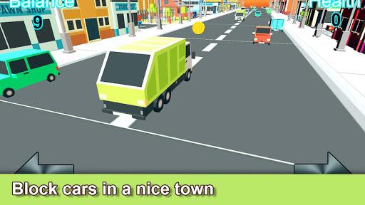 Blocky Traffic Truck