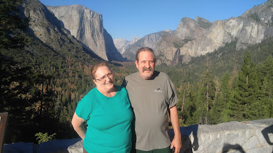 Photo: This is Tunnel View overlook on our way to the campsite at Wawona.