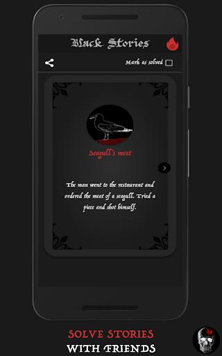 Screenshot for Black Stories PREMIUM in Hong Kong Play Store