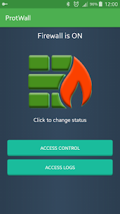 VPN Safe Firewall - Free Proxy Screenshot