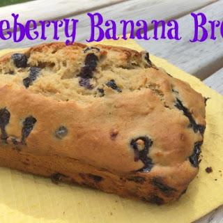 Blueberry Banana Bread.