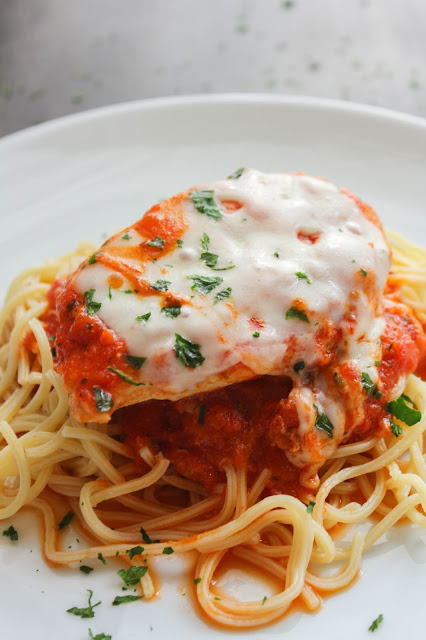 Skillet Chicken Parmesan | The Chef Next Door