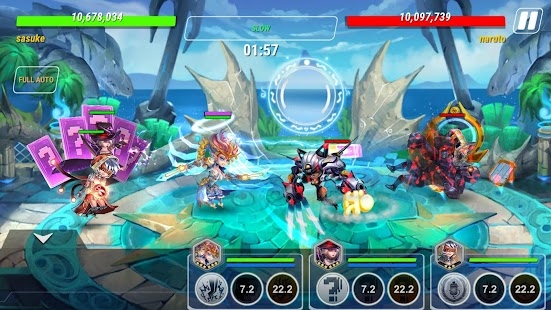 Heroes Infinity: RPG + Strategy + Super Heroes Screenshot