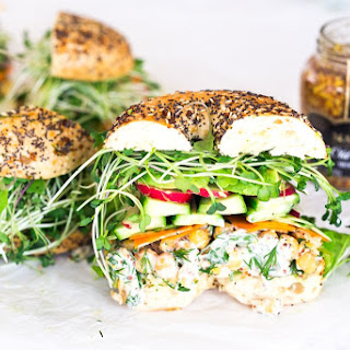 Spring Goddess Sandwich.