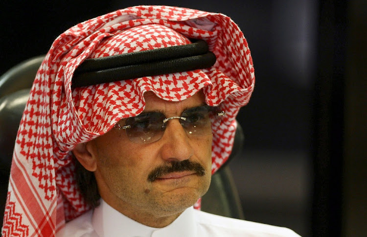 AlWaleed bin Talal. Picture: REUTERS