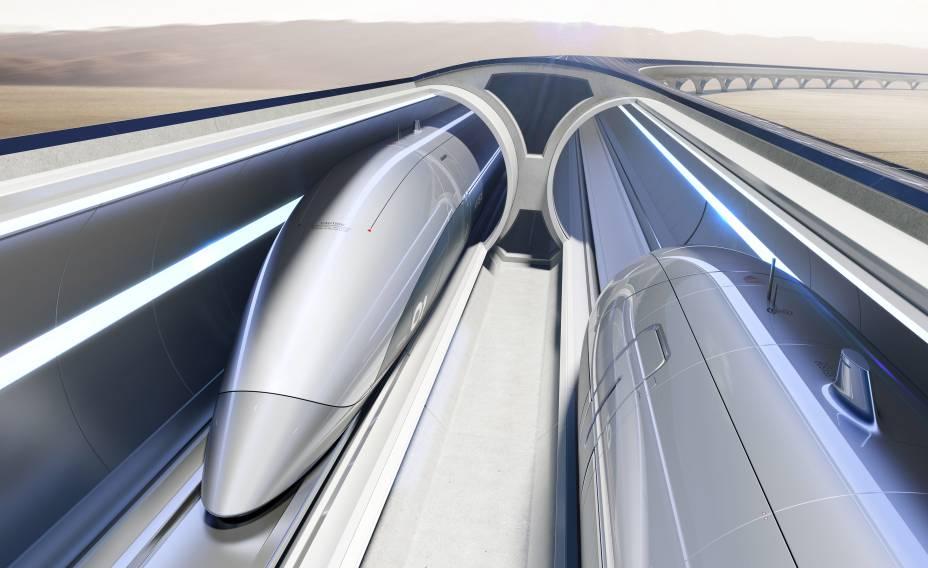 Design da cápsula HyperloopTT