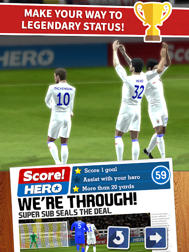Score! Hero app (apk) free download for Android/PC/Windows screenshot