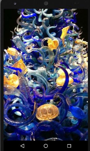 Glass Art Beauty