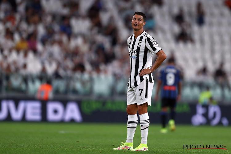 OPVALLEND! Ronaldo wil nog weg bij Juventus en zit op de bank