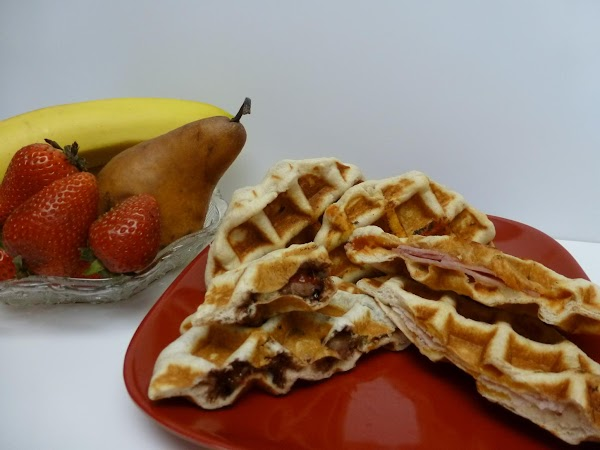 Kid's Choice Waffled Sandwiches Recipe