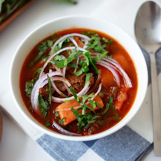 Pressure Cooker Vietnamese Bo Kho (Beef Tomato Stew)