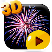 3d Fireworks Live Wallpaper