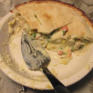 MiMi's Creamy Chicken Pot Pie