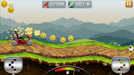 Angry Granny: Racing Car APK screenshot thumbnail 1