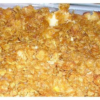 Corn & Cream Cheese Casserole.