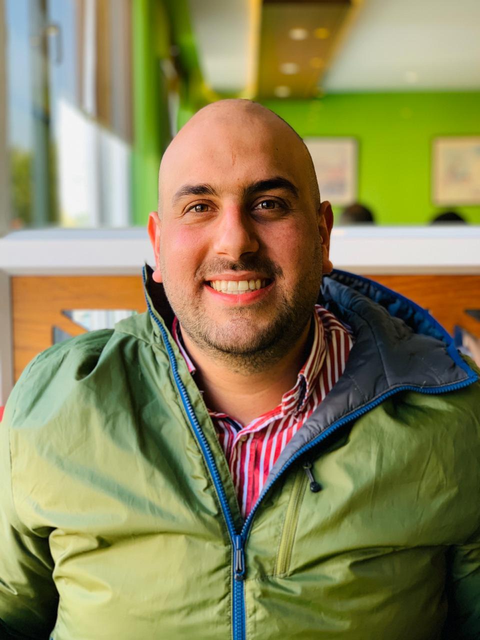 photograph of Ghassan Halawa
