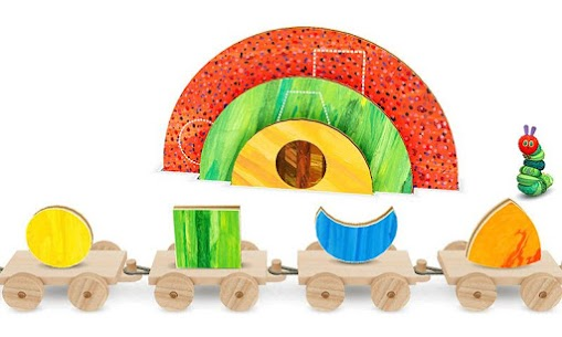 Hungry Caterpillar Shapes and Colors 6
