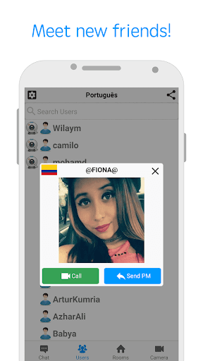 ChatVideo Meet new people 3.0.8 screenshots 2