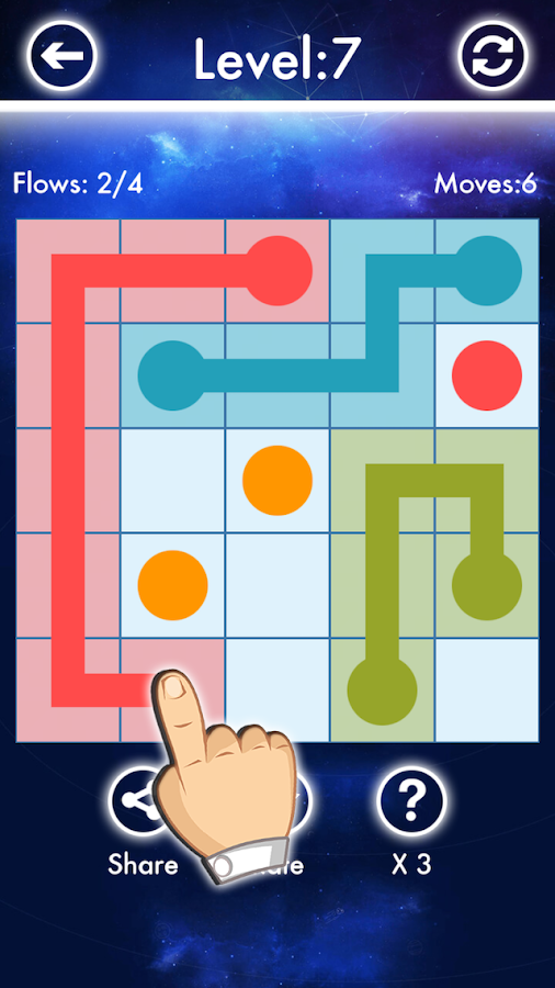 Scale Game - Link 2 Dots- screenshot