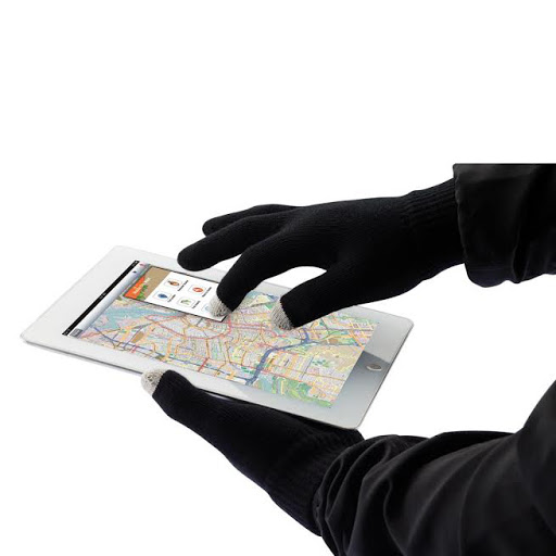 Touch Screen Gloves & Phone Storage Pouch