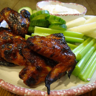 Chicken Wings and Blue Cheese Dip
