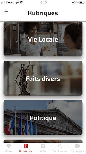 Capturas de pantalla de France-Guyane Actu 4