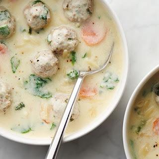 Greek Wedding Soup.