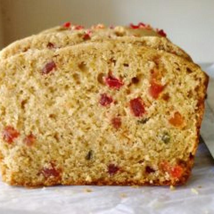 100% Whole Wheat Tutti Frutti Cake