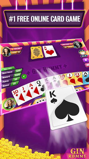 Gin Rummy Online - Multiplayer Card Game 14.1 screenshots 3