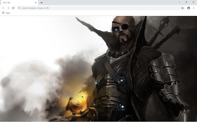 Nick Fury New Tab & Wallpapers Collection